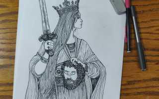 Расшифровка карты Королевы Мечей в раскладах на отношения, любовь, работу и здоровье